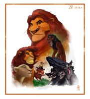 20 years jubilee of the Lion King by SapeginM92