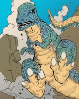 KMAC For February 2013: Gorosaurus by rebis