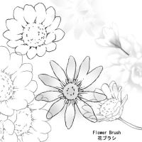Flower Brushes by kabocha