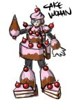 Cake Woman by SomethingSyndicated