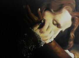 Tom Cruise as 'Lestat' by Galilea86
