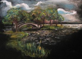 Bridge on the Charles by hever