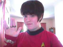 Live Long and Prosper by FredrickTheCreeper
