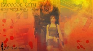 Postcard From Raccoon City by Jill---Valentine
