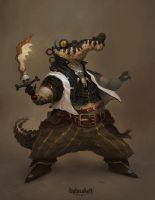 Crocoguy by trejoeeee