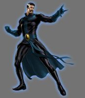 Blue Lantern Dr Strange by Lord-Lycan
