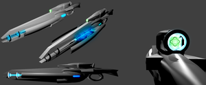 Excillias 3 Antimatter Beam Rifle 3D model by Marksman104