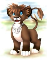 KH2 Sora Lion Cub by Trinamon