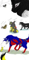 Transformers wolves by TheWinterRaven