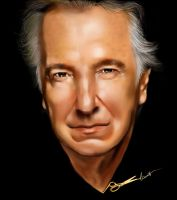 Alan Rickman by lianit