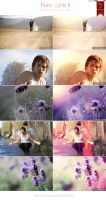 Flare Lights Photoshop Action Pack II by Welton-Arruda