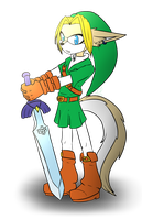 Mobian Link by Libra-Dragoness
