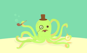 Mr octopus by Flodger