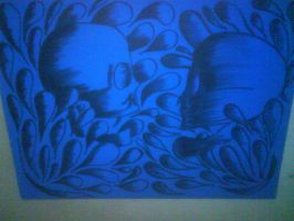 skull to skull by flamex1991