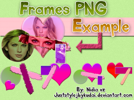 Frames Heart PNG Pack by juststyleJByKUDAI