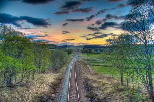 Railroad by Sapka