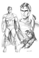 Superman Sketch by caiocacau