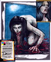 Messy Eater Sketch Card by dsilvabarred