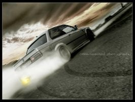 E30 DRIFTING by MWPHOTO