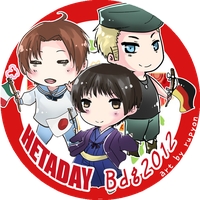 Pin design for Hetaday Bandung by Rupyon
