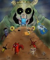Adventure Time Poster Idea by KuddlyFatality