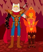Fire Royalty by -coldfusion-