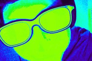 Self-Portrait Photo (Thermal Imaging) by SirDNA109