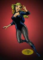 Black Canary by Nick Cardy by Gwhitmore