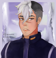 shiro where th e fUH ARE YOU by littleballofspace