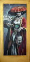 Judith and Holofernes Painting by angotti81