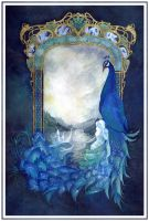 The Gate - Tribute to Alcest (Scanned version) by Miyou-illustration