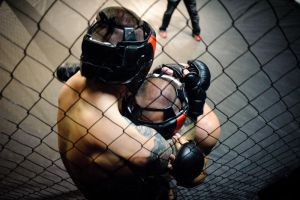 In the cage by tzaj