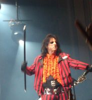 Alice Cooper on Halloween by PhoenixalThor