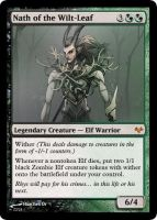 Nath of the Wilt-Leaf card by Gido