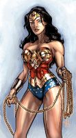 WW JLA colors by timothylaskey