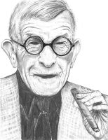 George Burns by marmicminipark