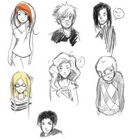 harry potter sketches by katherine-michelle