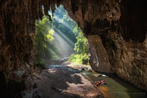 Tham Lod Cave by DrewHopper