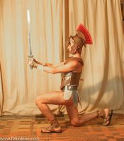 Roman Warrior Dressed 1b by Felixdeon