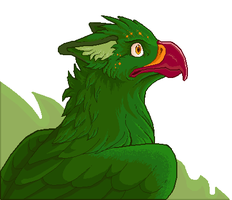 Another green gryphon by dorini