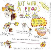 Hat With A Frog-Contest Entry2 by SamHallDraws