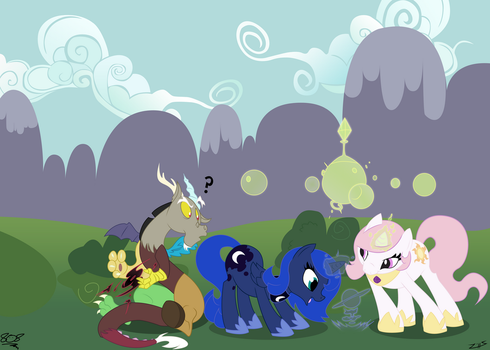 Kid sisters and Discord by aruigus808