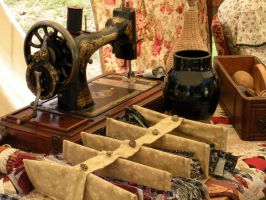 Antique sewing by fosspathei