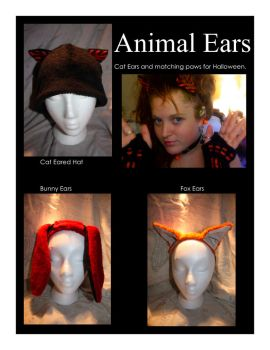 Animal Ears by kibiart