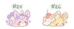 [CLOSED] Fluffbits #24 and #26 by Sarilain