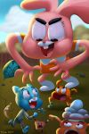 the amazing world of gumball by mikeorion22
