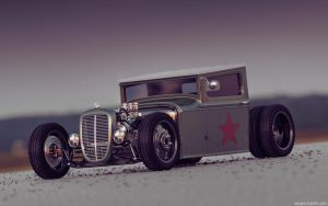Gaz AA Hot Rod Front by sergoc58