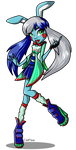 Fem Toy Bonnie in Monster High by C-a-t-P-a-w
