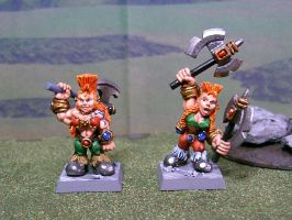 Female Dwarf Slayers by Asch-JPN
