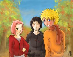 Team 7 - Autumn Suits Them by mosaicked